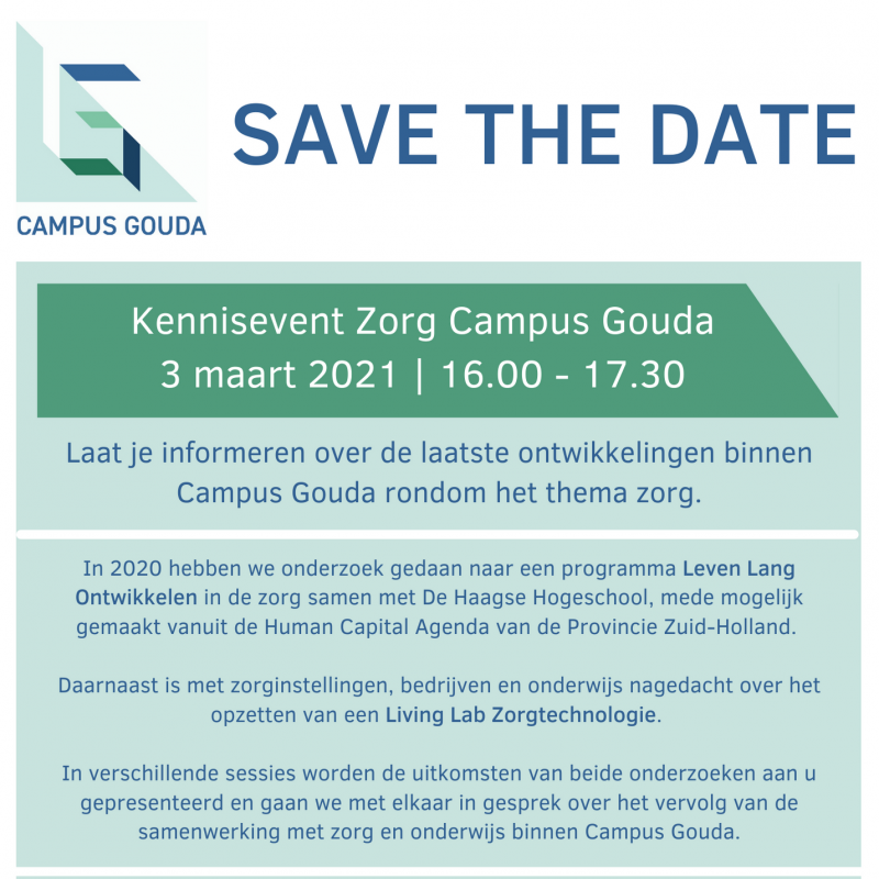 save-the-date-kennis-event-zorg-campus-gouda